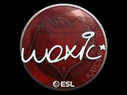 Наклейка | woxic | Катовице 2019