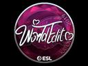 Sticker | WorldEdit (Foil) | Katowice 2019