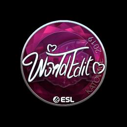 WorldEdit (Foil) | Katowice 2019