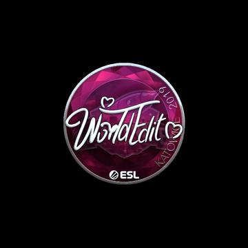 Steam Community Market :: Listings for Sticker | WorldEdit (Foil