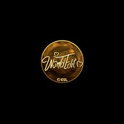 Sticker | WorldEdit (Gold) | Katowice 2019