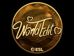 WorldEdit   Katowice 2019