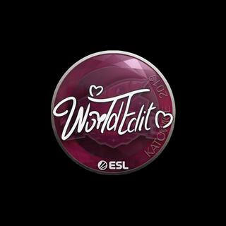 Sticker | WorldEdit | Katowice 2019