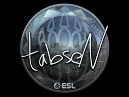 Sticker | tabseN (Foil) | Katowice 2019