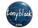 Sticker   tonyblack   Katowice 2019