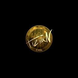 Sticker | tiziaN (Gold) | Katowice 2019