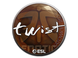 Sticker | twist | Katowice 2019