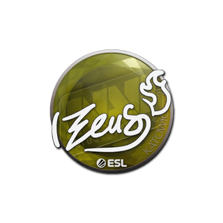 Sticker   Zeus   Katowice 2019