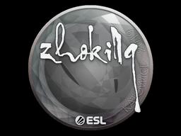 Sticker | zhokiNg | Katowice 2019