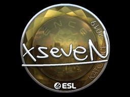 Sticker | xseveN (Foil) | Katowice 2019