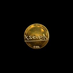 Sticker | xseveN (Gold) | Katowice 2019