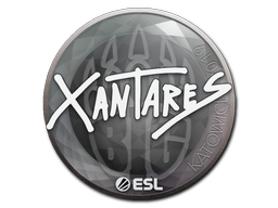 Наклейка | XANTARES | Катовице 2019