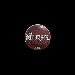 Sticker | xccurate | Katowice 2019