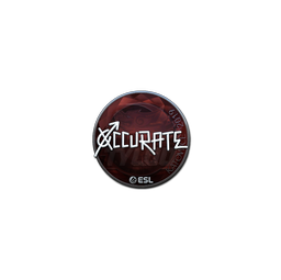 Sticker | xccurate (Foil) | Katowice 2019