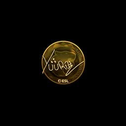 Sticker | yuurih (Gold) | Katowice 2019