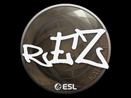 Sticker | REZ | Katowice 2019