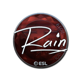 rain (Foil) | Katowice 2019