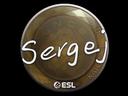 Sticker | sergej | Katowice 2019