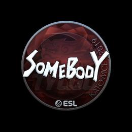 somebody (Foil) | Katowice 2019