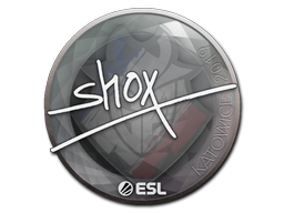 Sticker | shox | Katowice 2019
