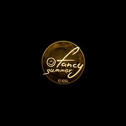 Sticker | Summer (Gold) | Katowice 2019