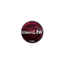 Sticker | stanislaw (Foil) | Katowice 2019