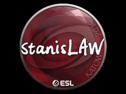 Наклейка | stanislaw | Катовице 2019
