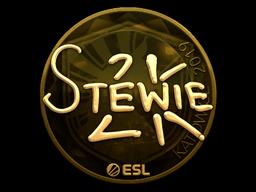 Sticker | Stewie2K (Gold) | Katowice 2019