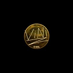 Sticker | VINI (Gold) | Katowice 2019