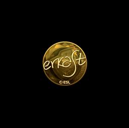 Sticker | erkaSt (Gold) | Katowice 2019
