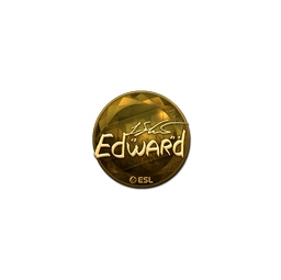 Sticker | Edward (Gold) | Katowice 2019