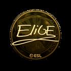 Sticker   EliGE (Gold)   Katowice 2019