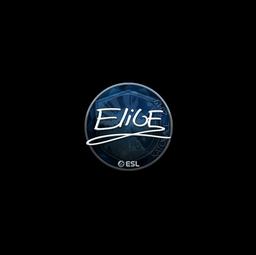Sticker   EliGE (Foil)   Katowice 2019