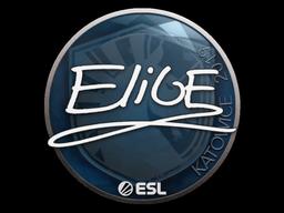 Sticker | EliGE | Katowice 2019