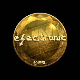 electronic (Gold) | Katowice 2019