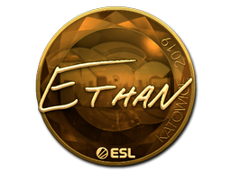 Sticker | Ethan (Gold) | Katowice 2019
