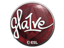 Sticker   gla1ve   Katowice 2019