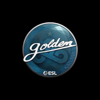 Sticker | Golden | Katowice 2019