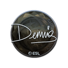 Sticker | dennis (Foil) | Katowice 2019