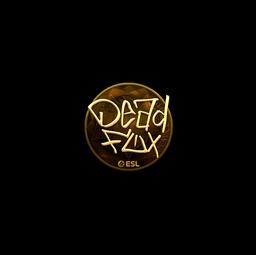 Sticker | DeadFox (Gold) | Katowice 2019