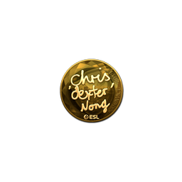Sticker | dexter (Gold) | Katowice 2019