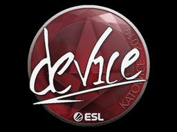 Sticker | device | Katowice 2019