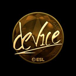 device (Gold) | Katowice 2019