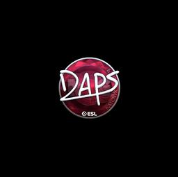 Sticker | daps (Foil) | Katowice 2019