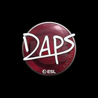 Sticker | daps | Katowice 2019