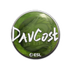 Sticker   DavCost   Katowice 2019