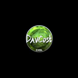 Sticker | DavCost (Foil) | Katowice 2019