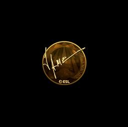 Sticker | Jame (Gold) | Katowice 2019