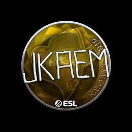 jkaem (Foil) | Katowice 2019