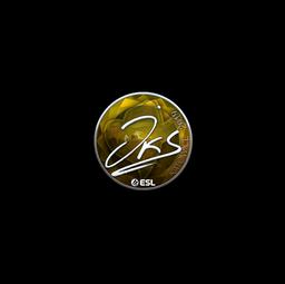 Sticker | jks (Foil) | Katowice 2019